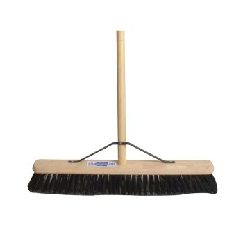 Faithfull Broom PVC 600mm (24in) with 54in Handle - FAIBRPVC24H