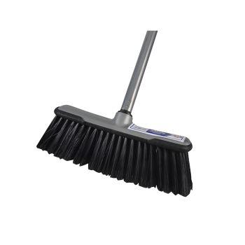 Faithfull Soft Broom with Screw On Handle 30cm (12in) - FAIBRSOFTDIY