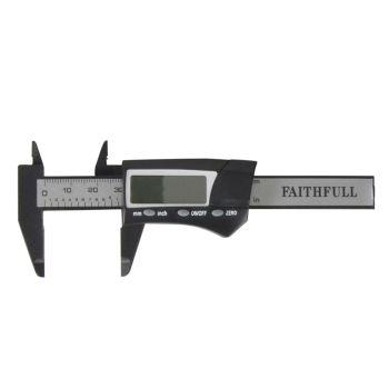 Faithfull Mini Digital Caliper 75mm Capacity - FAICALDIG75