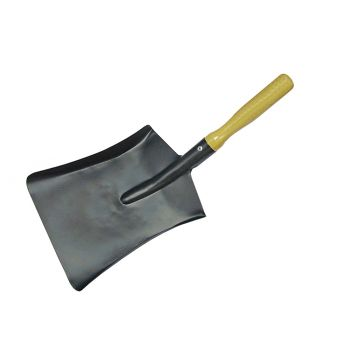 Faithfull Coal Steel Shovel Wooden Handle 230mm - FAICOALS9
