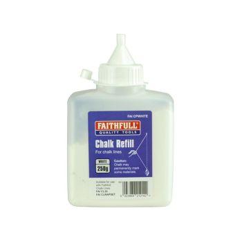 Faithfull Chalk Powder 250g - White - FAICPWHITE