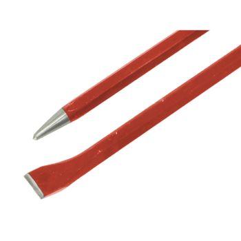 Faithfull Bent Chisel Digging Bar 6.4kg 25mm x 1.5m - FAIDIGCHISEL