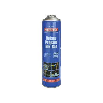 Faithfull Butane Propane Gas Cartridge 350g - FAIGZ350