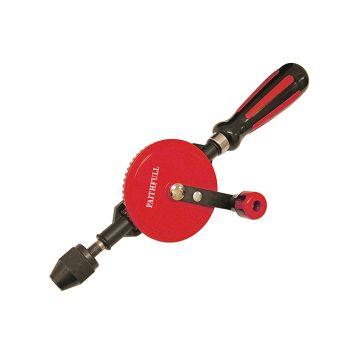 Faithfull Hand Drill Double Pinion 8mm Capacity - FAIHANDDRILL