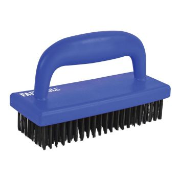 Faithfull Hand Scrub Wire Brush - FAIHSB
