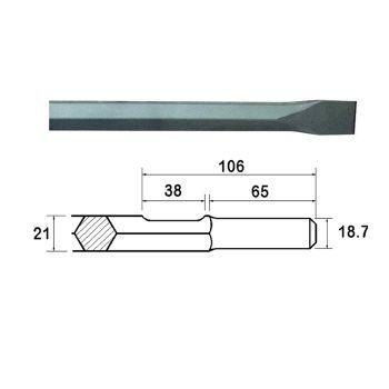 Faithfull Kango Shank Chisel 380mm (914118) - FAIKAGC380