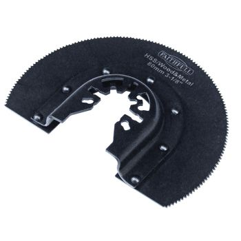 Faithfull Multi-Functional Tool HSS Radial Blade Wood-Metal 87mm - FAIMFWM80