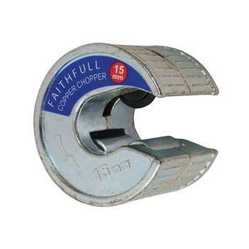 Faithfull Pipe Slicer Copper Chopper 15mm - FAIPCC15