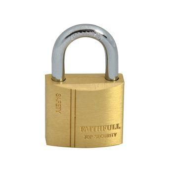 Faithfull Brass Padlock 30mm 3 Keys - FAIPLB30