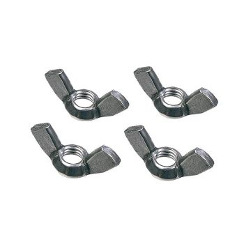 Faithfull External Building Profile Wing Nuts (Pack of 4) - FAIPROEXTWN