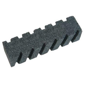 Faithfull Rubbing Brick Fluted 200 x 50 x 50mm - FAIRBRICKF8