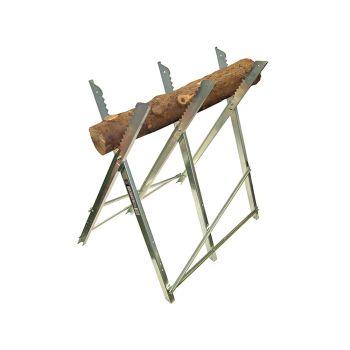 Faithfull Sawhorse Folding Trestle Galvanised - FAISAWHORSE