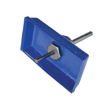 Faithfull SDS-Plus Square Box Cutter, Double - FAISDSBOXLRG