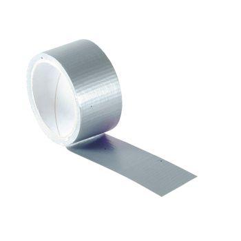 Faithfull Power Stik Waterproof Tape 50mm x 10m Silver - FAITAPEPSS