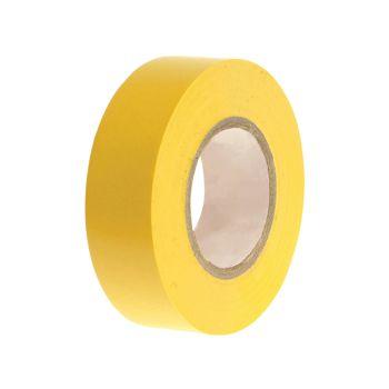 Faithfull PVC Electrical Tape Yellow 19mm x 20m - FAITAPEPVCY
