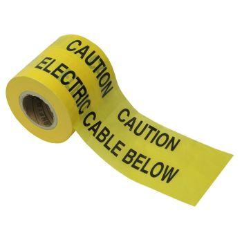 Faithfull Warning Tape 365m Electric - FAITAPEUELE