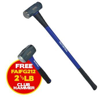 Faithfull Sledge Hammer Fibreglass Handle 4.54kg (10lb) - FAIFG10