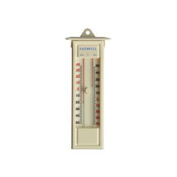 Faithfull Thermometer Press Button Max-Min - FAITHMMBUTMF