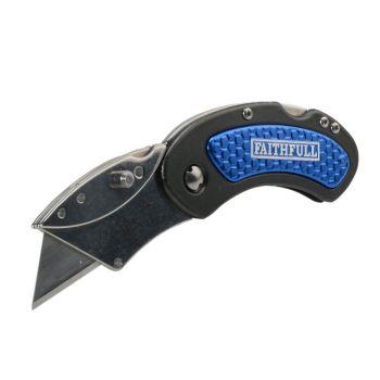 Faithfull Utility Folding Knife with Blade Lock - FAITKUTILITY