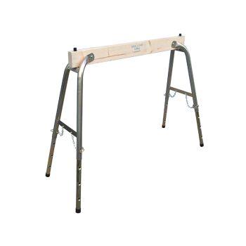 Faithfull Steel / Wood Heavy-Duty Adjustable Trestle (Single) - FAITRESTLEWO