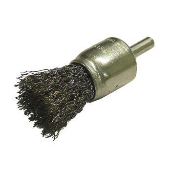 Faithfull Wire End Brush 25mm Flat End - FAIWBS25E