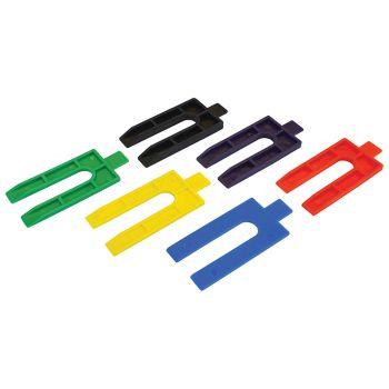 Faithfull Plastic Packing Wedges (500) - FAIWEDGE500