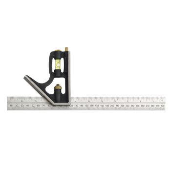 Fisher FB1953ME Combination Square 300mm (12in) - FIS1953BP