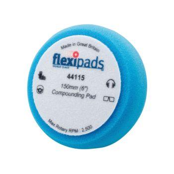 Flexipads World Class Blue Compounding / Polishing Foam 150 x 50mm GRIP - FLE44115