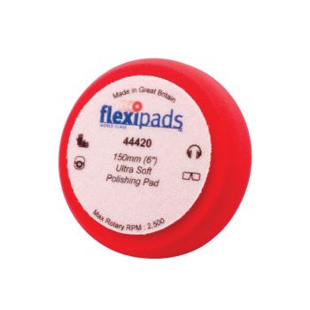 Flexipads World Class Red Polishing Foam 150 x 50mm GRIP - FLE44420
