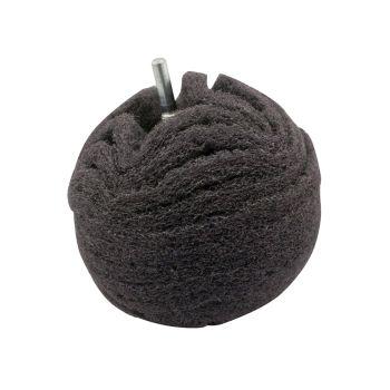 Flexipads World Class Scruff Ball 75mm / 3in Grey Ultra Fine - FLEBA360