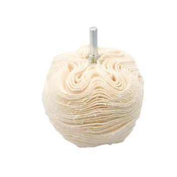 Flexipads World Class Scruff Ball 75mm / 3in Cotton Gloss Finish - FLEBA380