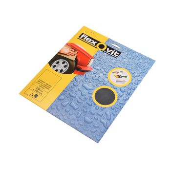 Flexovit Waterproof Sanding Sheets 230 x 280mm 1000g (25) - FLV58246