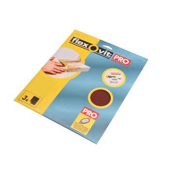 Flexovit Aluminium Oxide Sanding Sheets 230 x 280mm Assorted (25) - FLV26594