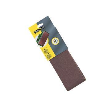 Flexovit Cloth Sanding Belts 610 x 100mm Assorted (Pack of 6) - FLV26816
