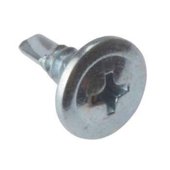 ForgeFix Drywall Screws Wafer Head Self-Drill TFT ZP 4.2 x 13mm Bulk 1000 - FORDWSWHSD13