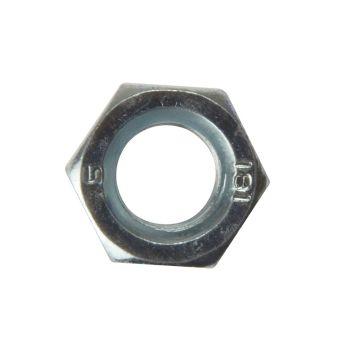 ForgeFix Hexagon Nut ZP M20 Bag 10 - FORNUT20M