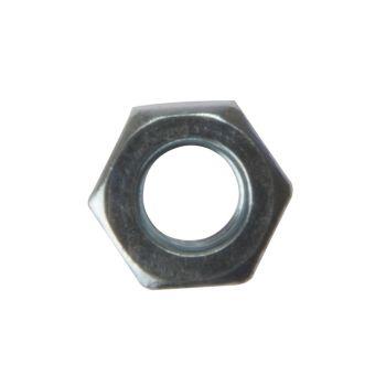 ForgeFix Hexagon Nut ZP M8 Bag 100 - FORNUT8M