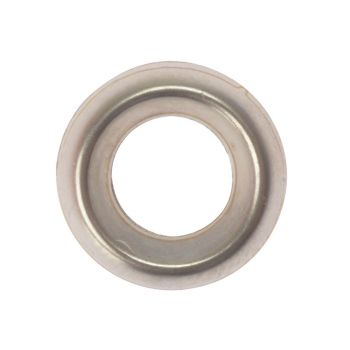 ForgeFix Screw Cup Washers Solid Brass Nickel Plated No.10 Bag 200 - FORSCW10NM
