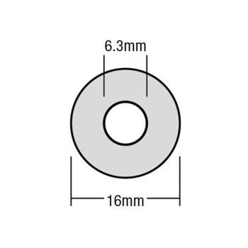 ForgeFix TechFast Bonded EPDM Washer 6.3 x 16mm Box 100 - FORTFW1663