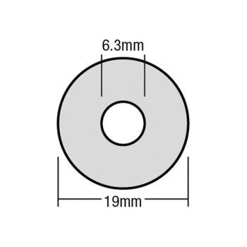 ForgeFix TechFast Bonded EPDM Washer 6.3 x 19mm Box 100 - FORTFW1963