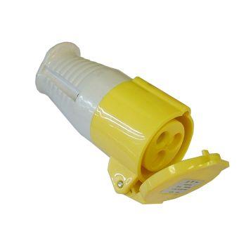 Faithfull Yellow Socket 16 Amp 110 Volt - FPPCOUP110