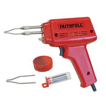 Faithfull SGK Soldering Gun 100 Watt 240 Volt - FPPSGK