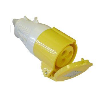 Faithfull Yellow Socket 32 Amp 110 Volt - FPPSOC32AMP