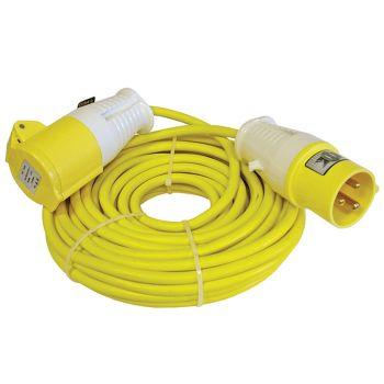 Faithfull Trailing Lead 14m 1750W 16 amp 1.5mm Cable 110V - FPPTL14ML