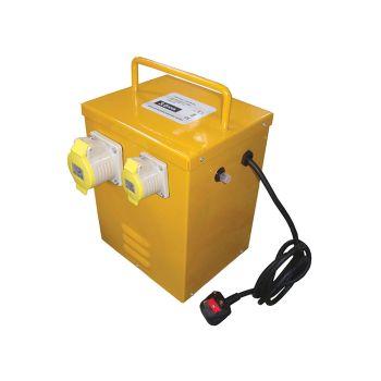 Faithfull Heater Transformer 3KVA Continuous Rate - FPPTRANHEAT