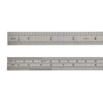 Fisco 712S Stainless Steel Rule 300mm / 12in - FSC712S