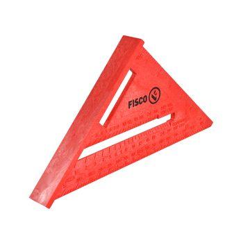 Fisco X55E Red Plastic Rafter Angle Square 175mm - FSCX55E