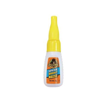 Gorilla Glue - Super Glue Brush & Nozzle 12g - GRGGSGB12