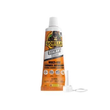 Gorilla Glue - Mould Resistant Sealant Clear Tube 80ml - GRGSEALCL80