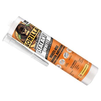 Gorilla Glue - Mould Resistant Sealant White 295ml - GRGSEALWH295
